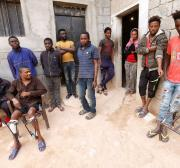East African migrants escape from captors in Libyan smuggling hub