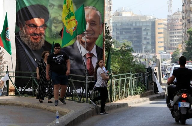 Preliminary results suggest a potential coalition government by Hezbollah-Amal coalition and Free Patriotic Movement [File photo]