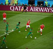 Qatar Airways versus Saudi Arabia at the FIFA World Cup