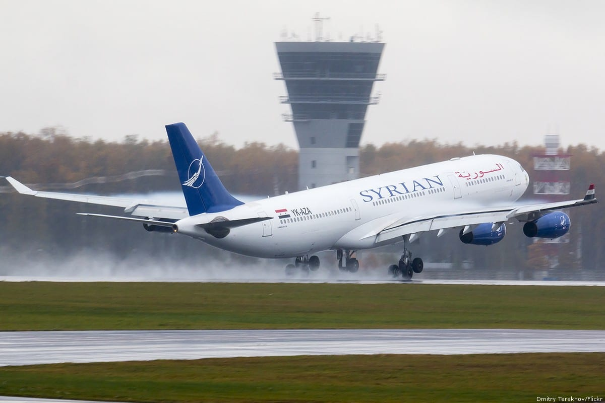 Syrian plane [Dmitry Terekhov/Flickr]