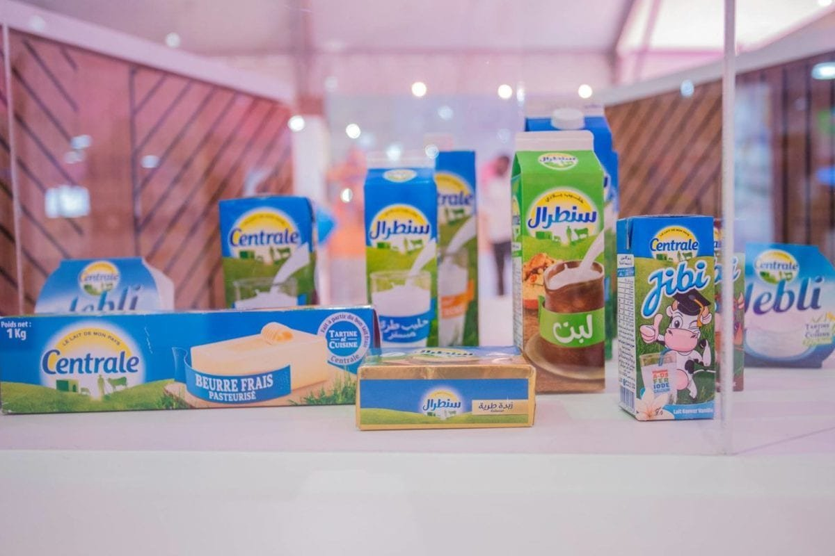 Some of the dairy products on sale in Morocco by France's Centrale-Danone, the largest dairy company in Morocco [Facebook / Centrale Danone]