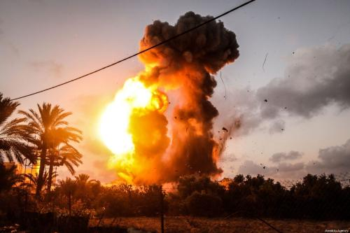 Israel army launches large-scale attack on Gaza