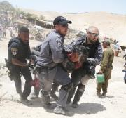 Israel forces 4 Palestinian families out of their village