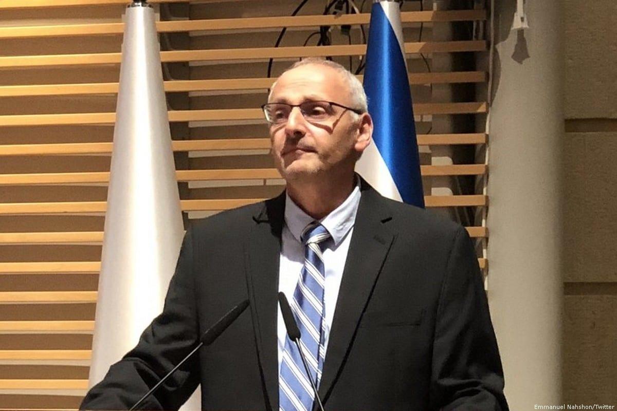 Israeli foreign ministry spokesperson, Emmanuel Nahshon [Emmanuel Nahshon/Twitter]