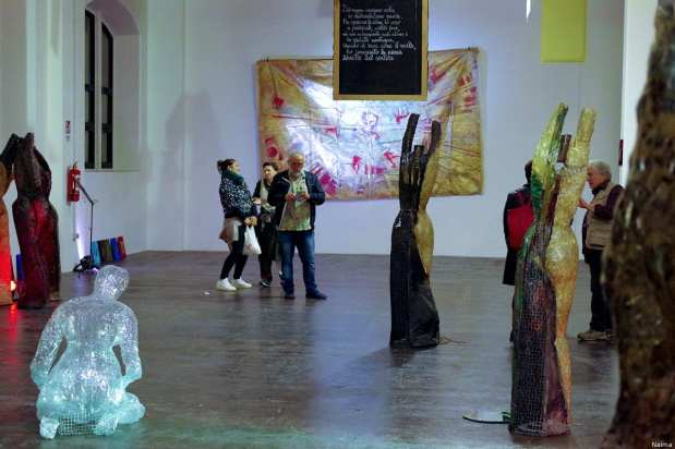 Arts festival challenges Italy's policies on migration [Naima Morelli]