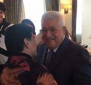 'My heart is Palestinian,' Maradona tells Abbas