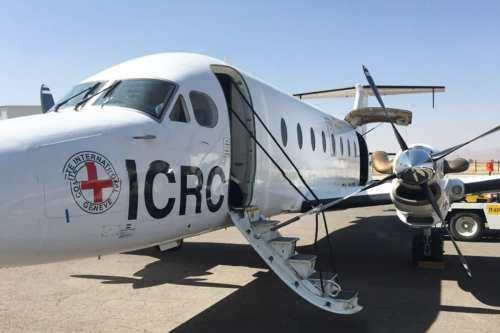 ICRC plane lands in Sana'a, Yemen [Twitter]