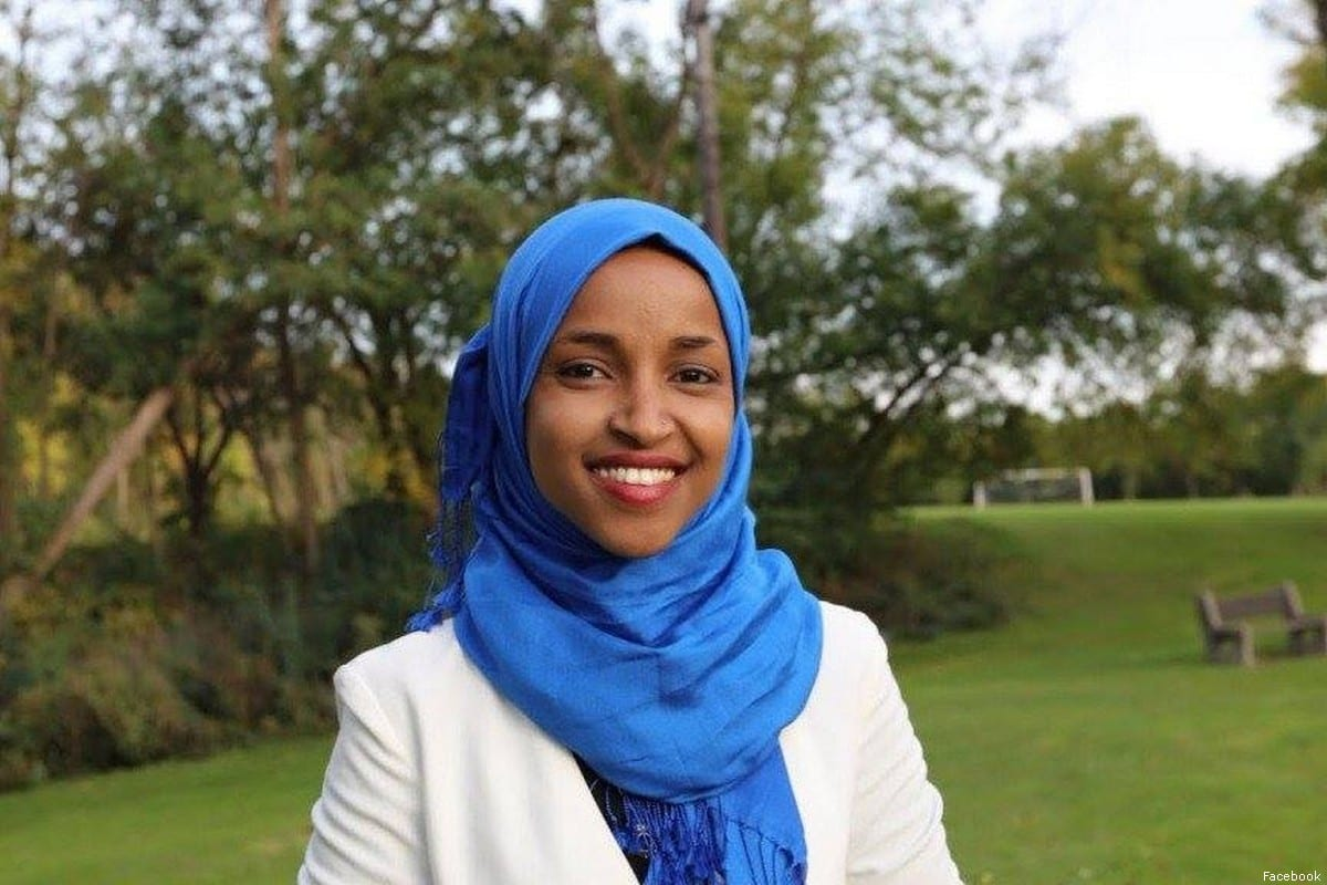 US congresswoman-elect Ilhan Omar of Minnesota and Somali-born Muslim Ilhan Omar [Facebook]