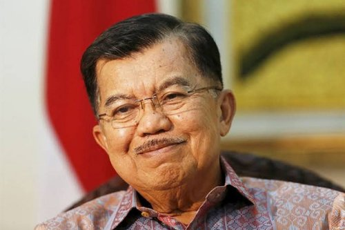 Indonesian Vice President, Jusuf Kalla [Twitter]