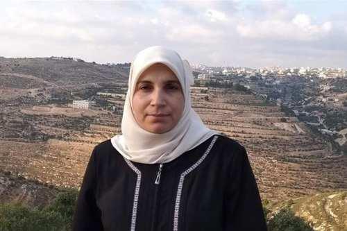 Palestinian writer Lama Khater [Al Jazeera English/Twitter]