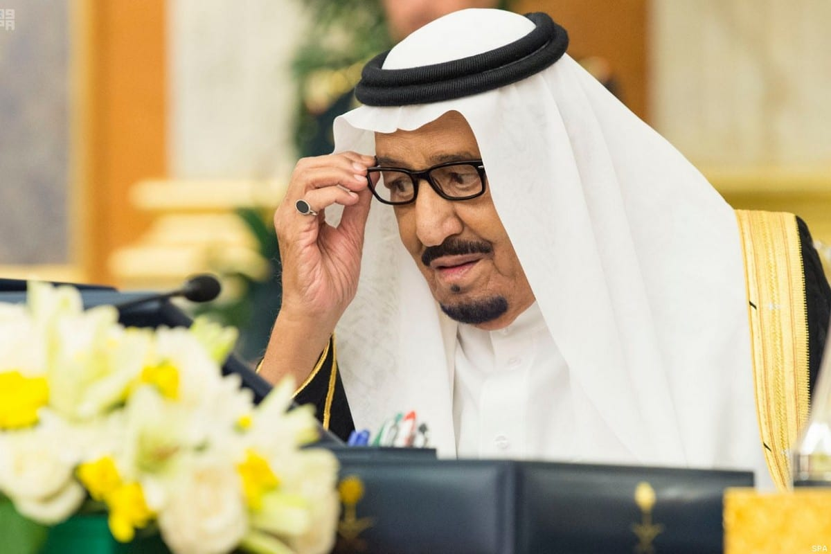 King of Saudi Arabia Salman Bin Abdulaziz [SPA]