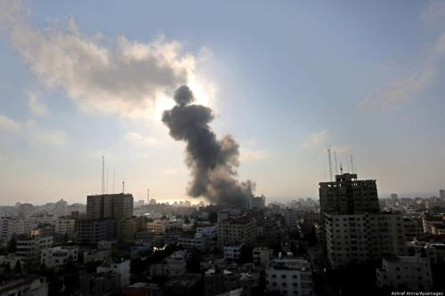 Rights group calls for international solidarity with Gaza