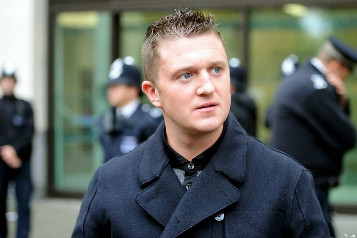 Pro-Israel think tank funds Tommy Robinson's legal costs