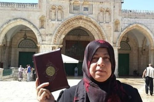 Aida Sidawi arrested by IOF for entering Al-Aqsa compound [maannews.com]