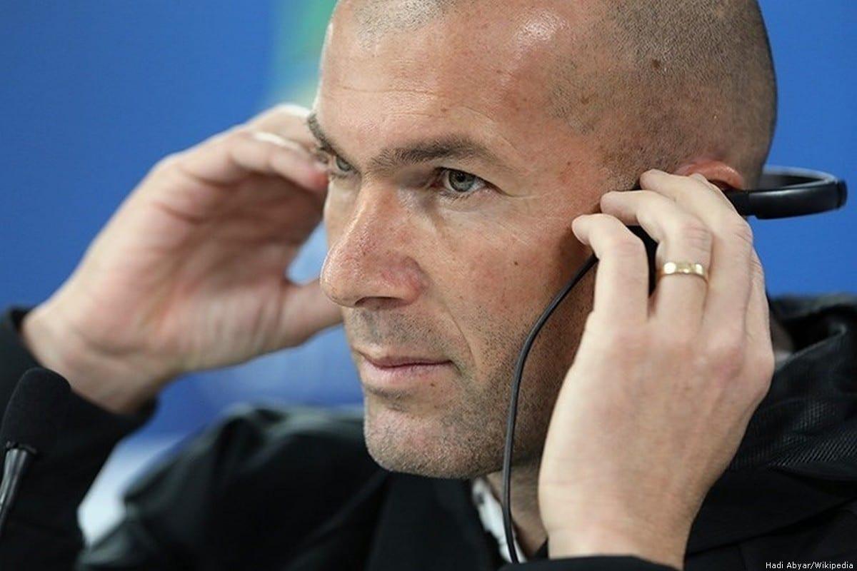 Former Real Madrid coach Zinedine Zidane [Hadi Abyar/Wikipedia]