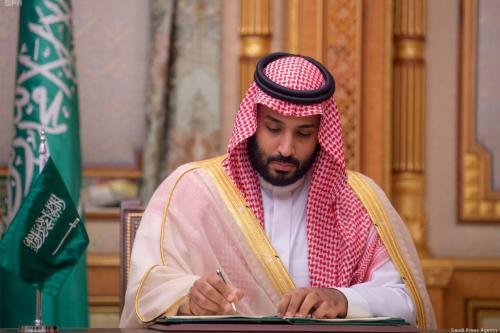Crown Prince Mohammad Bin Salman of Saudi Arabia [Saudi Press Agency]