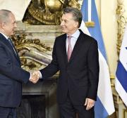 Netanyahu has an ally in Argentina's Mauricio Macri
