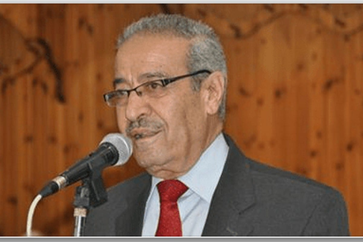 Member of the Executive Committee of the Palestine Liberation Organisation (PLO), Tayseer Khaled [Twitter]