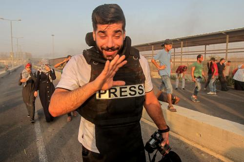 Head of Reporters Without Borders says Israel shot journalists intentionally