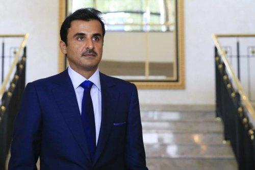 Qatari Emir Sheikh Tamim bin Hamad Al-Thani on 7 September 2018 [Abdülhamid Hoşbaş/Anadolu Agency]