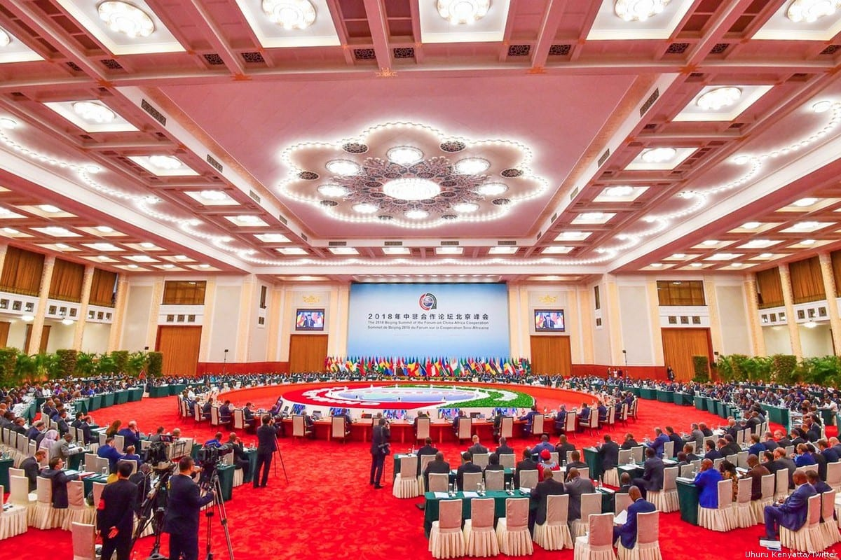 The 2018 China-Africa Cooperation summit [Uhuru Kenyatta/Twitter]
