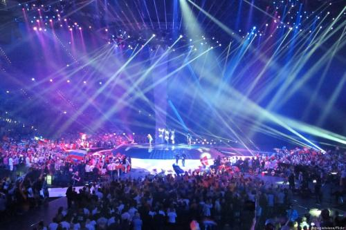 People take their seats as the Eurovision song contest begins [fotospielwiese/Flickr]