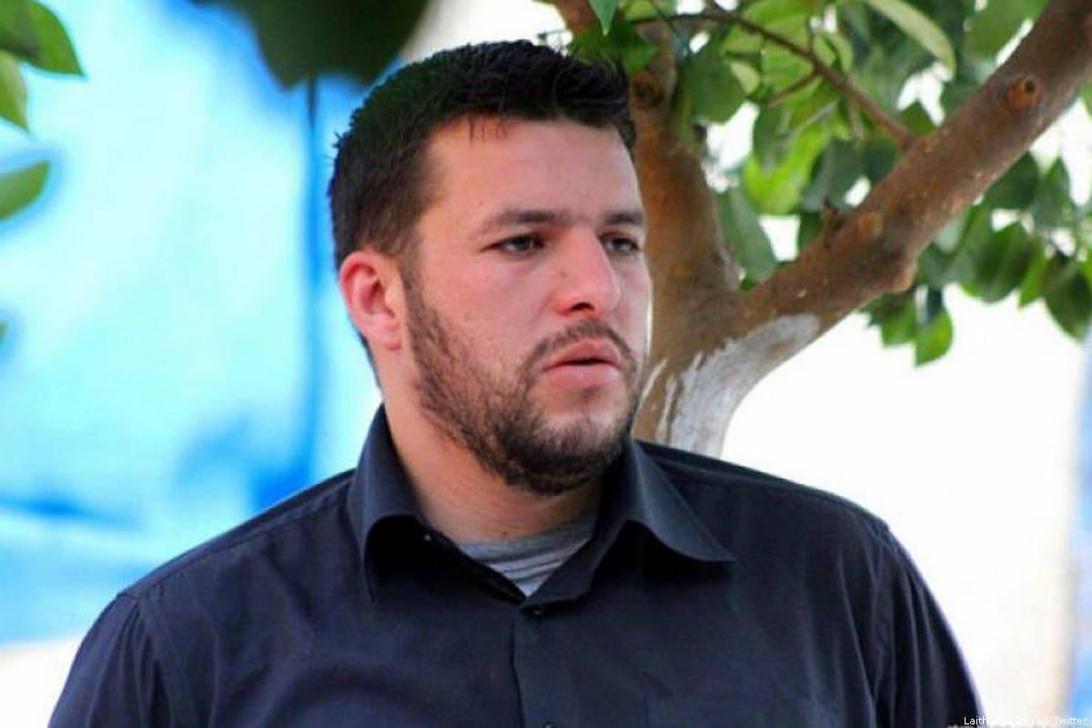 Israeli forces detained rights activist Hasan Karajeh [Laith Abu Zeyad/Twitter]