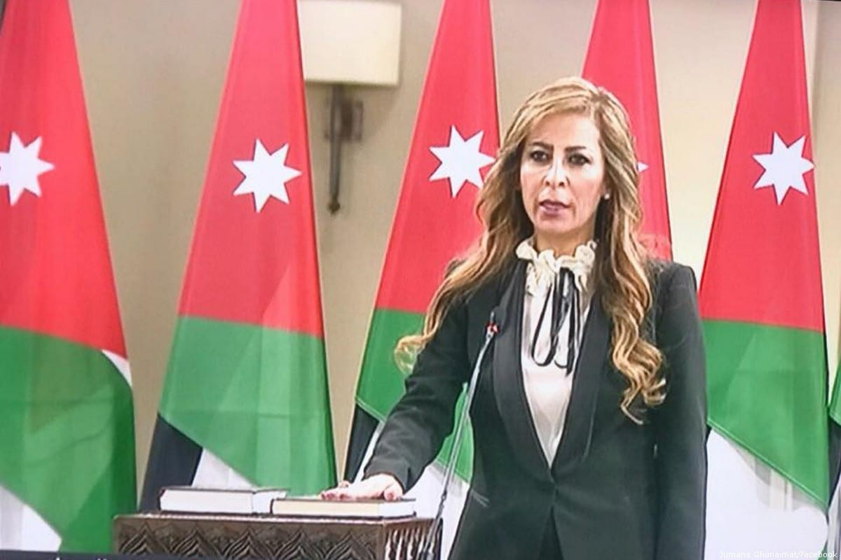 Spokeswoman for the Jordanian government, Jumana Ghneimat [Jumana Ghneimat/Facebook]