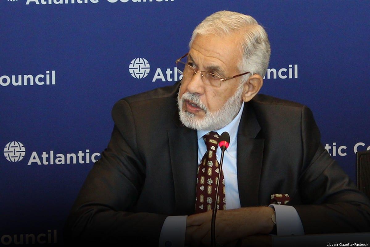 Foreign minister of Libya Mohamed Taher Siala in the capital Tripoli, Libya [Libyan Gazette/Facbook]