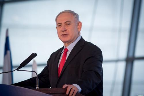 Netanyahu accepted alternative plan for Khan Al-Ahmar