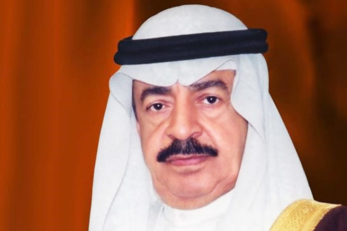 Bahraini Prime Minister Khalifa Bin Salman Al Khalif [Twitter]