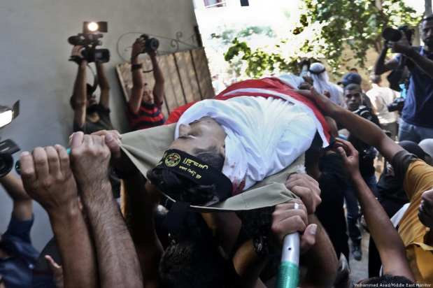 family mourn for dead palestinian5