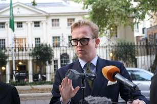 Saudi Embassy Press Conference - Rhys Davies Barrister, Temple Garden Chambers, London, 4 October, 2018 [Jehan Alfarra/Middle East Monitor]