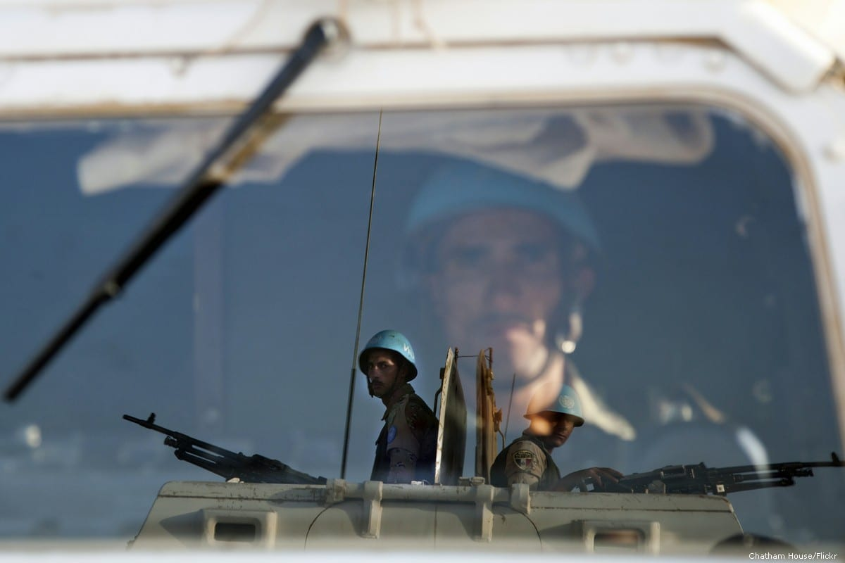 UN peacekeepers on 26 September 2011 [Chatham House/Flickr]