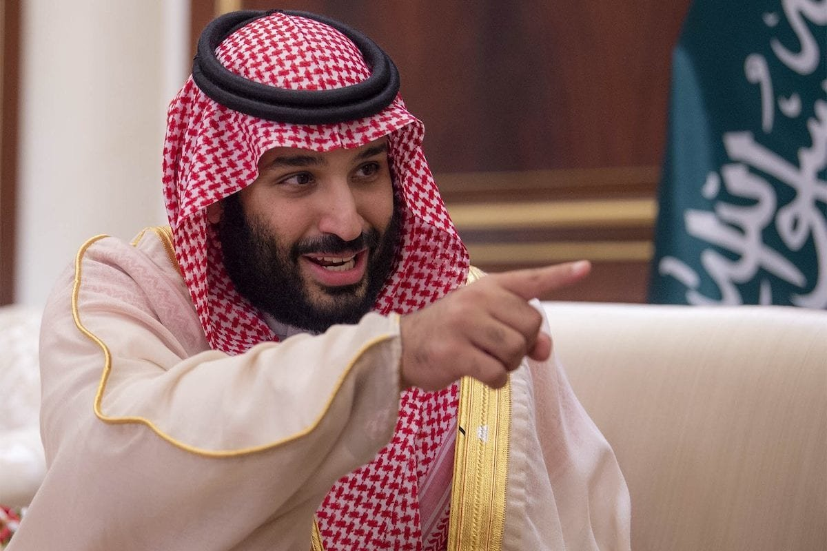 Crown Prince of Saudi Arabia Mohammad bin Salman in Kuwait on 30 September 2018 [BANDAR ALGALOUD/Anadolu Agency]