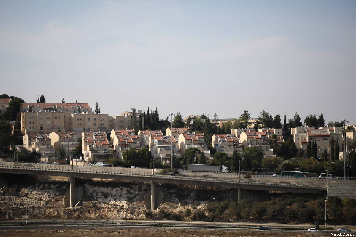 View of a Jewish settlement on 4 October 2018 [Mostafa Alkharouf/Anadolu Agency]