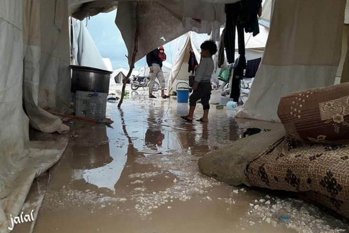 Refugee camps flooded, 6 dead as heavy rains hit Lebanon