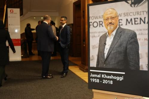 Royal adviser fired over Khashoggi murder not on trial in Saudi court