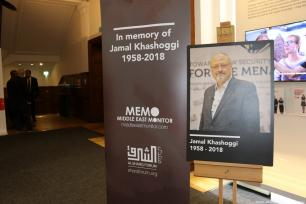 In association with the Al Sharq Forum, Middle East Monitor is hosted an international memorial in honour of Jamal Khashoggi on 29 October 2018 [Jehan Alfarra/Middle East Monitor]