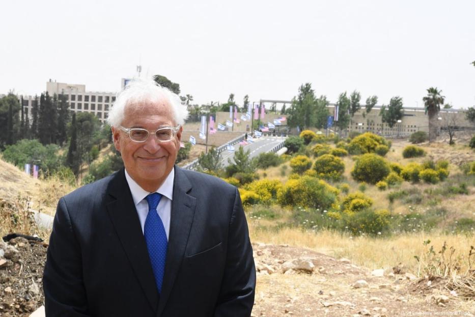 US ambassador to Israel, David Friedman in Jerusalem on 10 May 2018 [U.S. Embassy Jerusalem/Flickr]