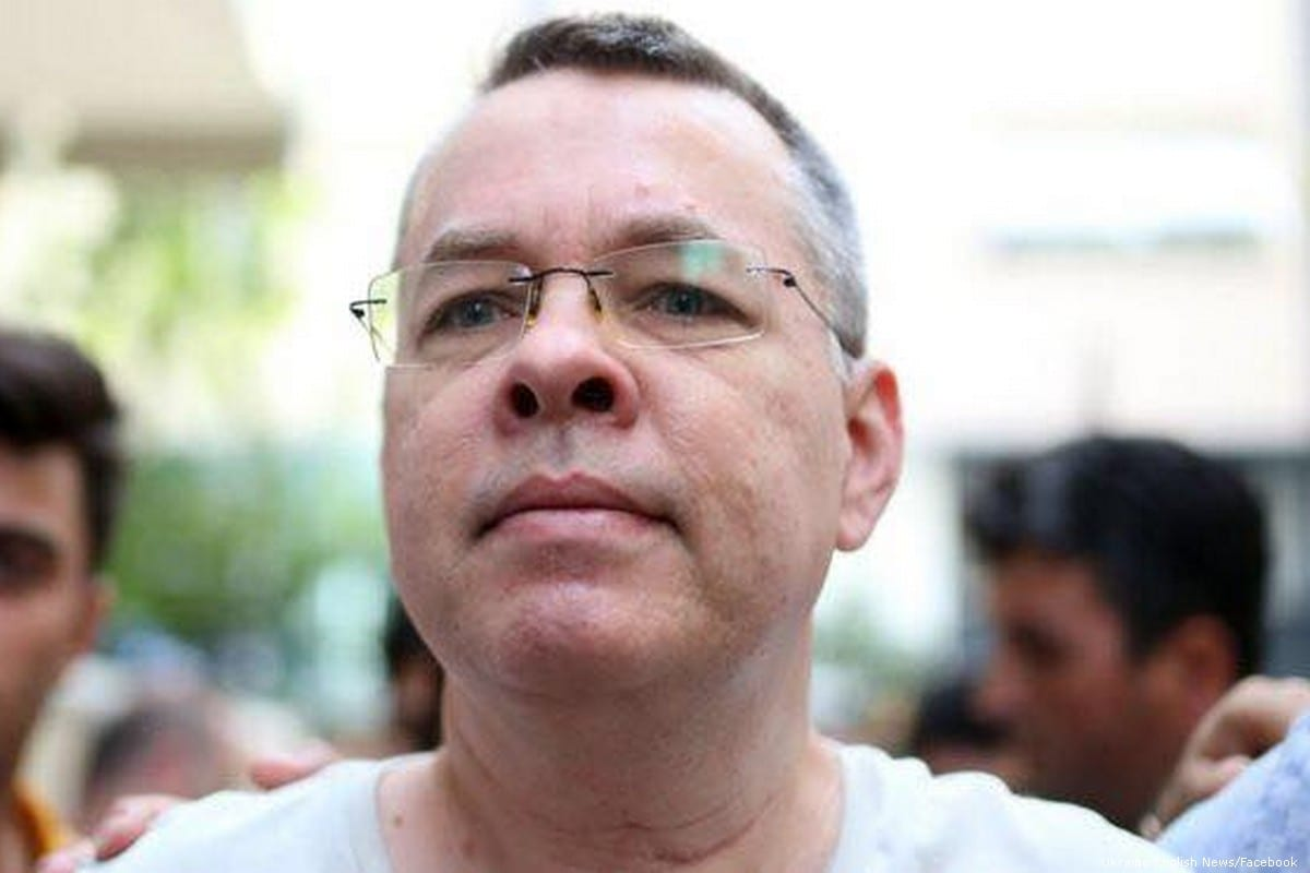 Pastor Andrew Brunson, who faces terror-related charges, is under house arrest in Aegean province of Izmir, Turkey [Ukraine English News/Facebook]