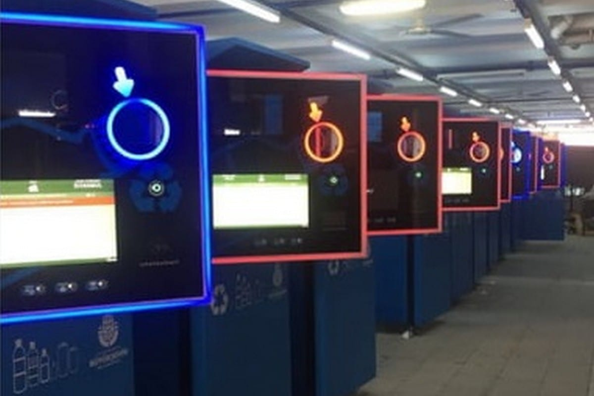 Istanbul metro has installed the city's first vending machine that accepts recycled bottles and cans in return for credit that can be used on the capital's transportation pass [Twitter]