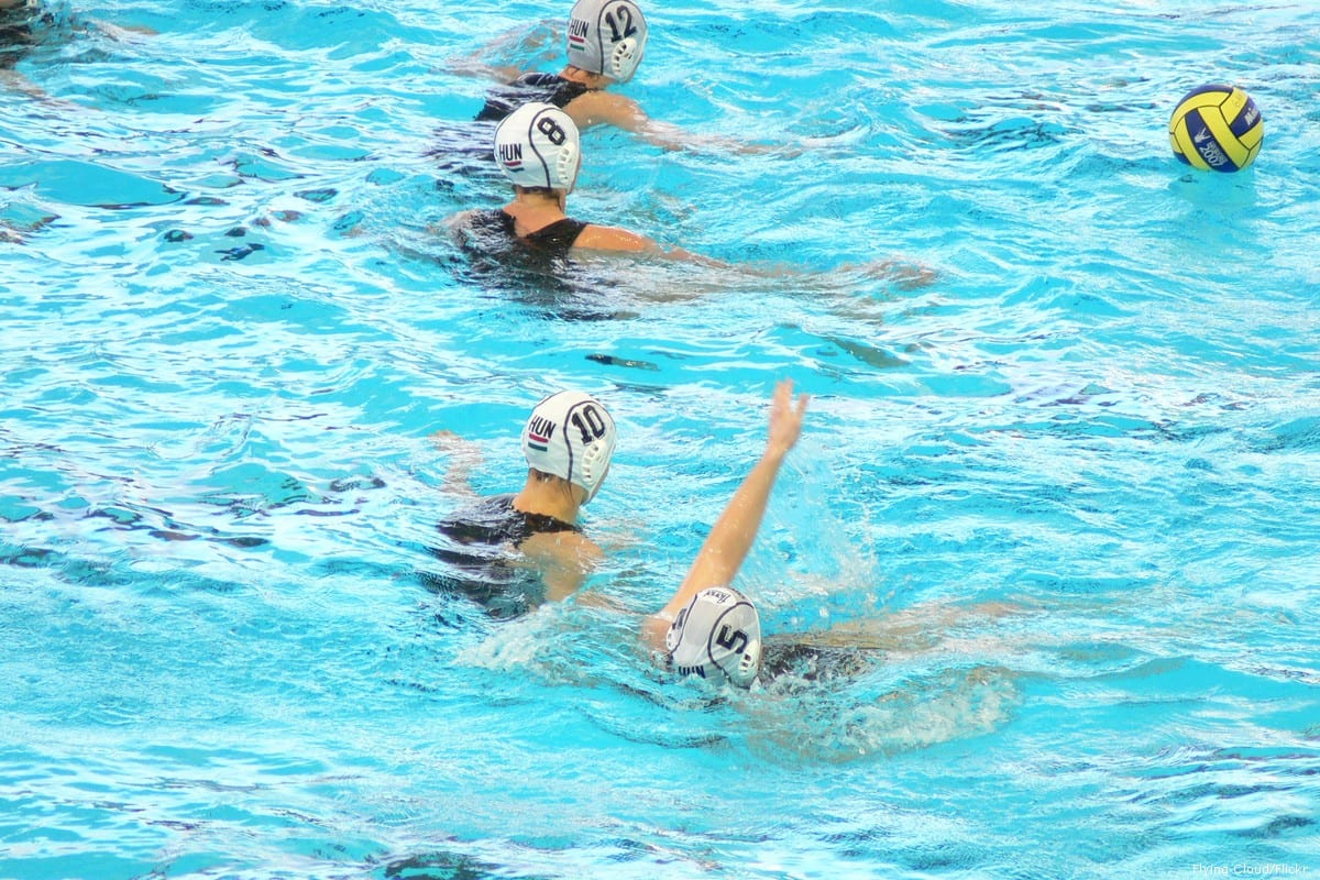Water polo match [Flying Cloud/Flickr]