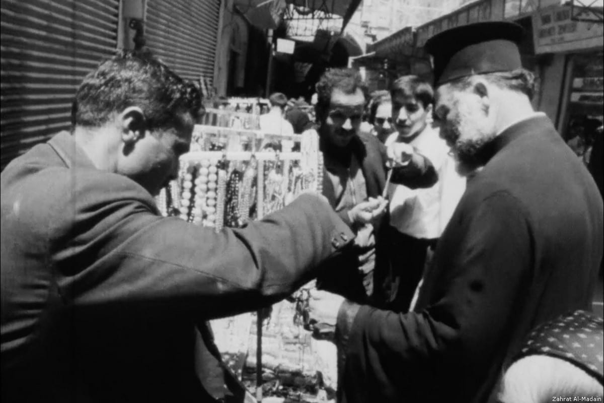 Jerusalemites go about daily life before the Six Day War of 1967 in 'Zahrat Al-Madain'