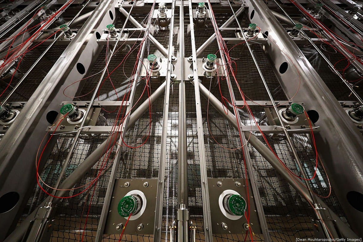 'Clean room' in the particle accelerator at the The European Organisation For Nuclear Research -Geneva, Switzerland [Dean Mouhtaropoulos/Getty Images]
