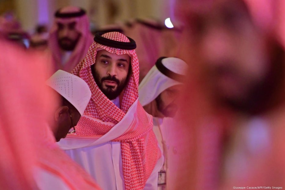 Saudi Crown Prince Mohammed bin Salman in Riyadh, Saudi Arabia on 24 October 2018 [Giuseppe Cacace/AFP/Getty Images]