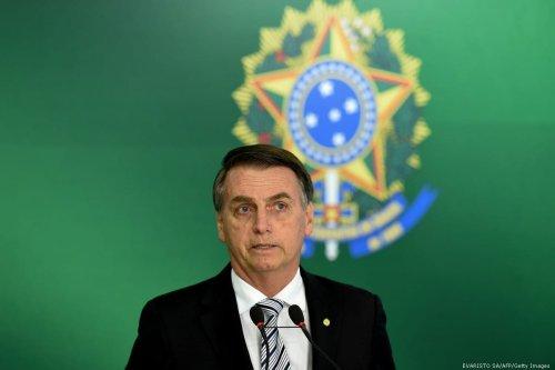 Brazilian president-elect Jair Bolsonaro in Brasilia, Brazil on 7 November 2018 [EVARISTO SA/AFP/Getty Images]