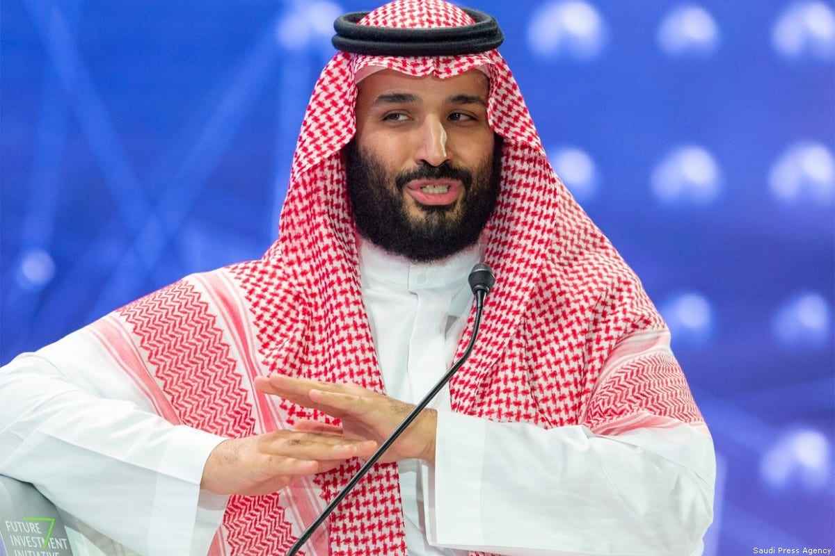Saudi Arabia Crown Prince Mohammad Bin Salman in Saudi Arabia on 5 November 2018 [Saudi Press Agency]