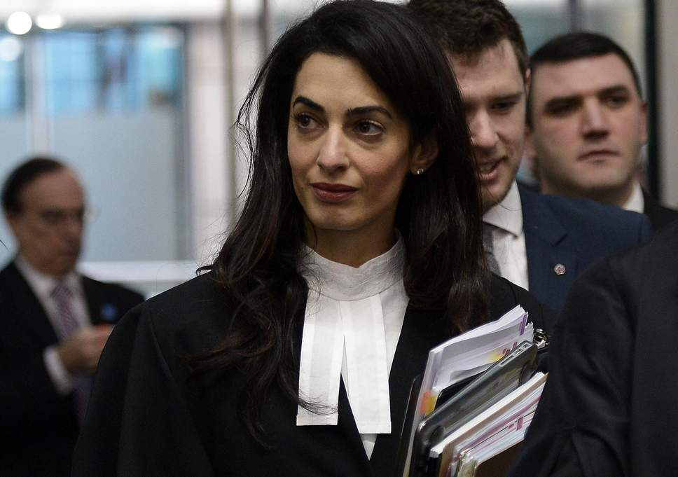 Amal Clooney advises companies to step up human rights to profit