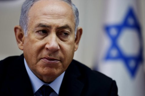 Israeli Prime Minister Benjamin Netanyahu on 28 October 2018 [ODED BALILTY/AFP/Getty Images]